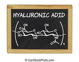 chemical formula of hyaluronic acid
