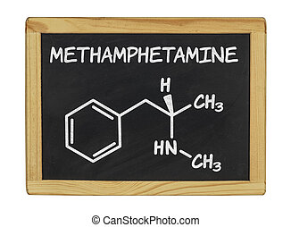 chemical formula of methamphetamine