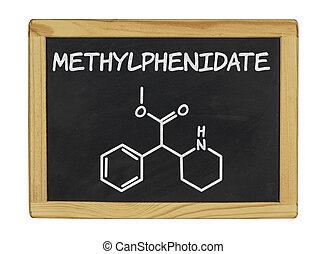 chemical formula of methylphenidate