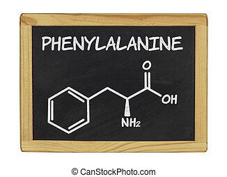 chemical formula of phenylalanine