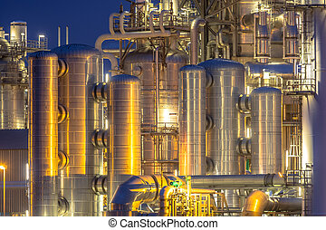 Chemical installation background