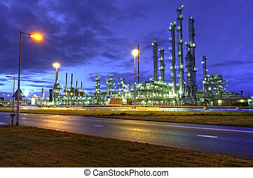 Chemical Installations - High Dynamic Range impression of a ...