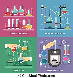 Chemical Laboratory Concept - Chemical laboratory concept...