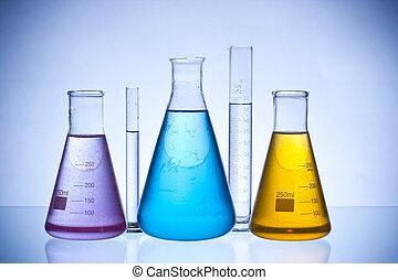 laboratory glassware - chemical laboratory glassware...