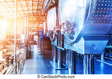 Chemical manufacturing industrial equipment