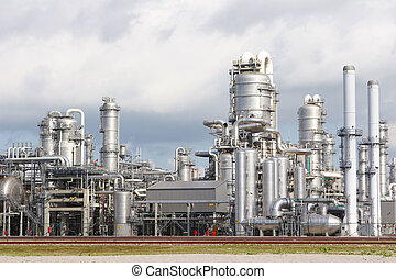 Chemical plant - industrial plant