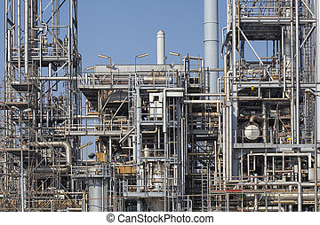 chemical plant - Oil industry equipment installation, metal...