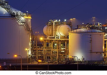 Chemical production facility at nig