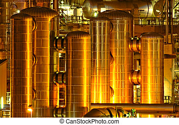 Chemical production facility - Intimate details of a...