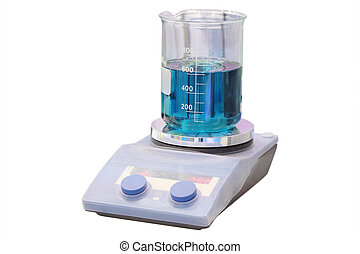 Chemical substance in the beaker