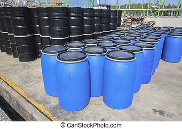 Chemical tank storage