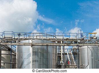 chemical tartály