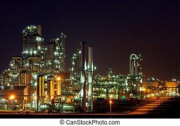 chemical termelés, adottság