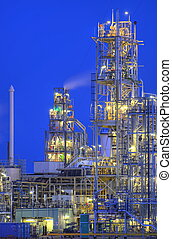 Chemical Tower - Tower as part of a large chemical ...