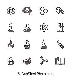 chemiczny, ikony