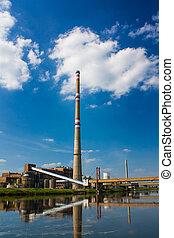 chemie, fabriek