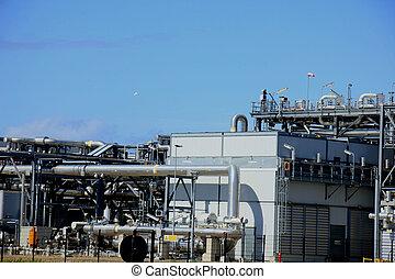 chemikálie, píle, průmyslový