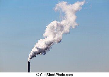 cheminée fumant