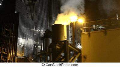 cheminée, vapeurs, condensation