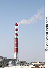 cheminées, industriel