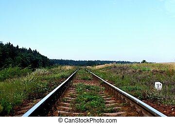 chemin fer, perspective