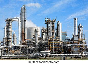 chemisch, fabriek