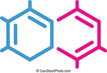 chemisch, symbool
