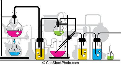 chemisch, testen