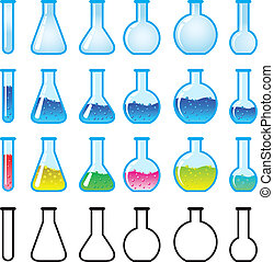 chemisch, wetenschapsmateriaal