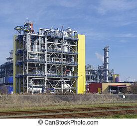 chemische plant