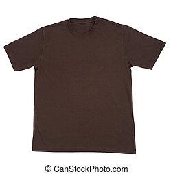 chemise, habillement, t, vide