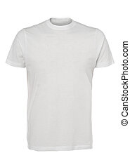 chemise, haut, t, fond, fin, blanc