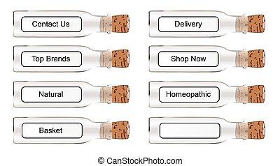 Chemist Style Web Labels
