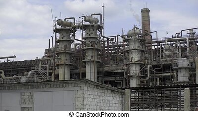 chemistry factory works - Refinery factory chemistry...