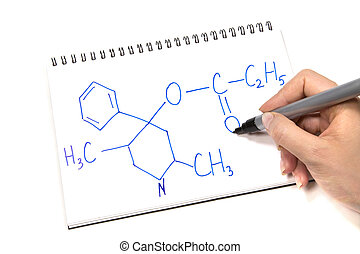 Chemistry Formula writing in Notepad
