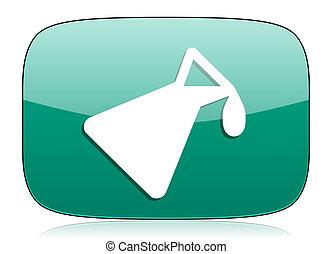 chemistry green icon