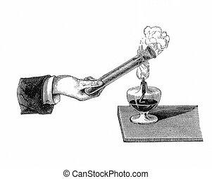 Chemistry: heat conduction in fluids