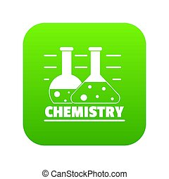 Chemistry icon green