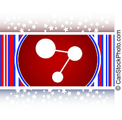 chemistry icon web button