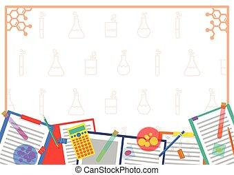 Chemistry Lab Chemical frame