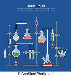 Chemistry laboratory or science lab equipment - Science...