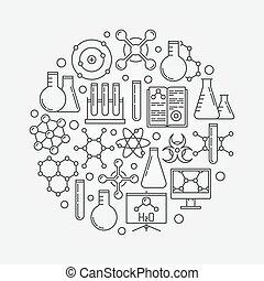 Chemistry vector illustration