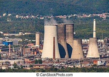 Chemopetrol Litvinov facility - chemical industry