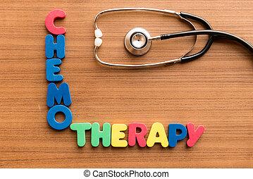 chemotherapy, 単語, カラフルである