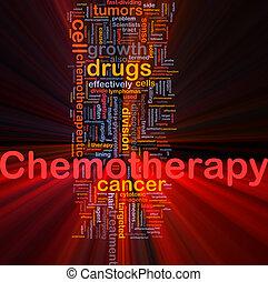 chemotherapy, concepto médico, encendido, plano de fondo