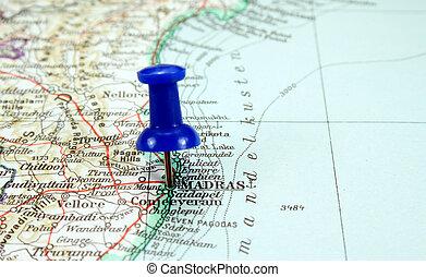 Chennai, India - Chennai, fourth biggest city in India, the...