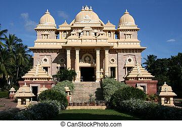 chennai, ramakrishna, india, templo