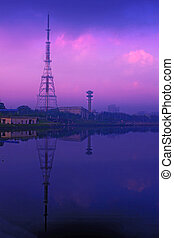 chennai TV tower -  TV tower