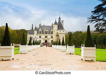 Chenonceau chateau, France