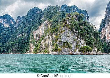 Cheo Lan lake in Thailand